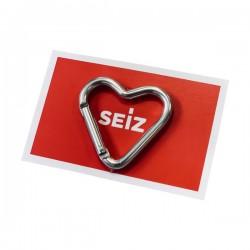 SEIZ Herz-Karabiner
